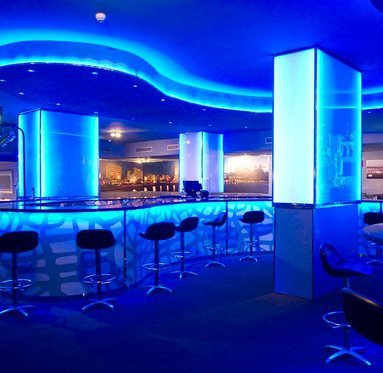 The Cristina Palmas Hotel night club is perfect for a ...