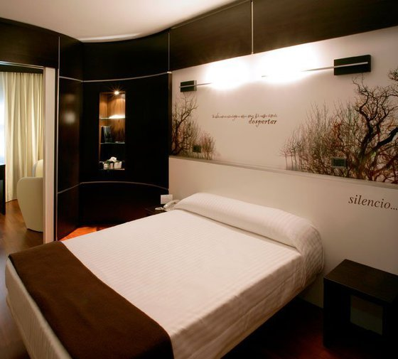 Our hotel in Zaragoza offers rooms with double beds. They ...