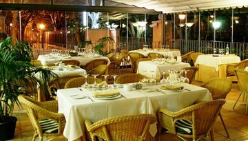 Enjoy our delicious dishes at the restaurant with terrace, an ...