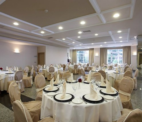 The Roma function room has a 213 m2 surface, with ...