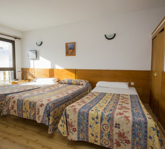 Stay in any of the 10 quadruple rooms, ideal for ...