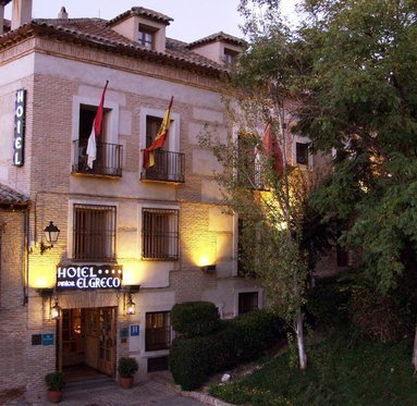 The Pintor el Greco hotel is an old seventeenth century ...