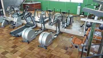 Stay fit with our modern gym
