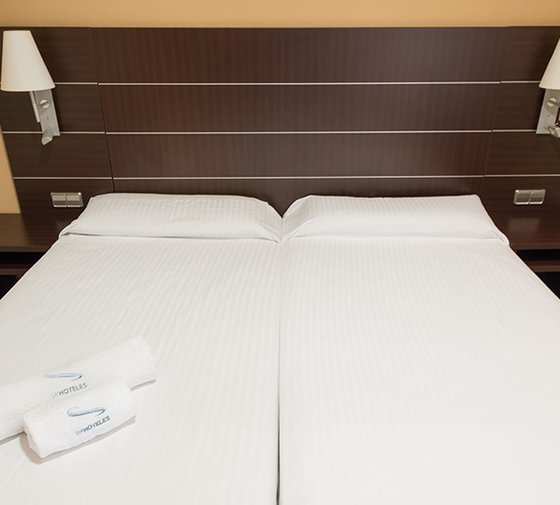 The Sercotel Las Ventas Hotel also boasts 44 twin rooms ...