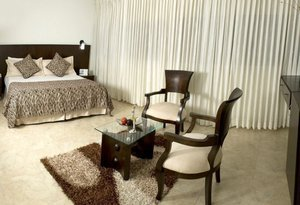 The Executive suites are exterior rooms bathed with natural light ...