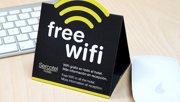 You will enjoy free Wi-Fi in the Sercotel Pere III ...