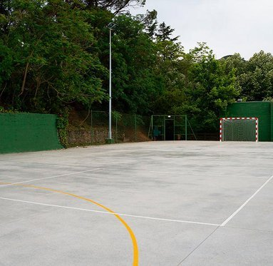 A perfect place to play soccer and other sports.