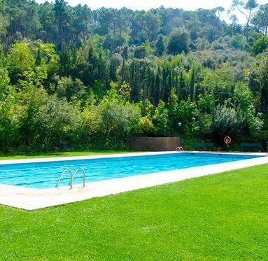 Enjoy our pool in summer