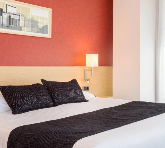 The Hotel Luz Castellón offers a special Twin room with ...