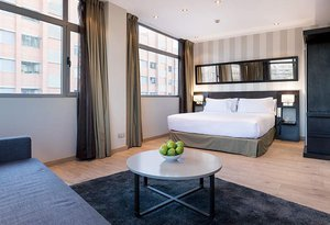 Sercotel Madrid Aeropuerto double rooms are cozy spaces, ideal for ...