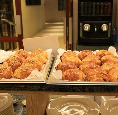 Enjoy buffet breakfast at the hotel we offer