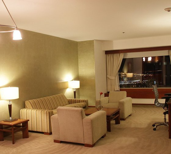 The Sercotel Tequendama Suites Hotel features spacious, luxury and functional ...