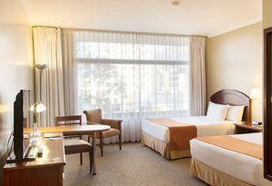 The Superior rooms at the Hotel Quito by Sercotel offer ...