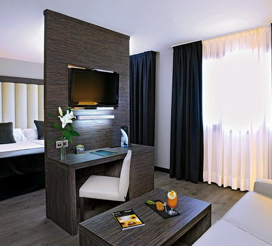 The  Gran Hotel Luna de Granada  has 99 Junior Suites ...