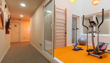Free access gym for clients