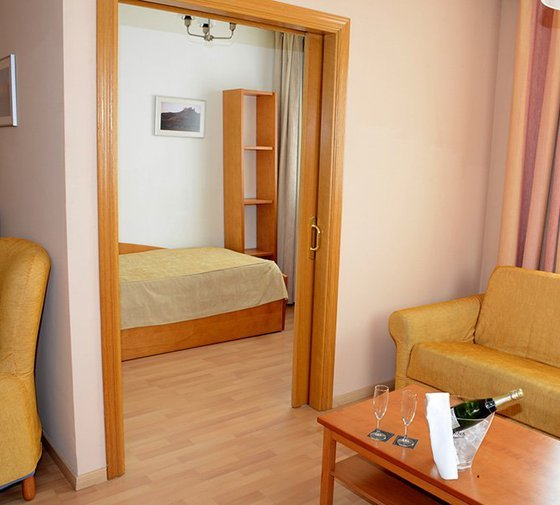 In Sercotel Aparthotel Huesca Suites rooms for three people, perfect ...