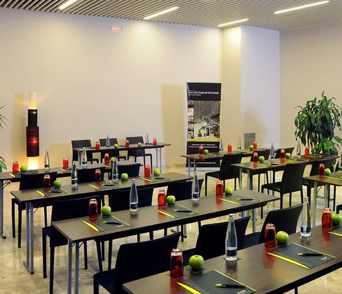 The Sant Jordi room has a surface of 370 m2 ...