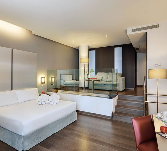 The Sercotel Coliseo Bilbao has 5 superior rooms ranging from ...