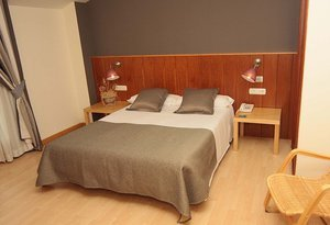 The hotel features spacious and comfortable exterior double rooms, equipped ...
