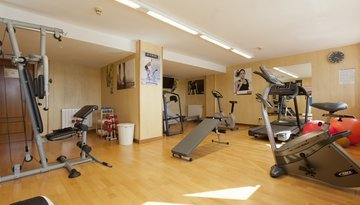 Gym is available for all our customers