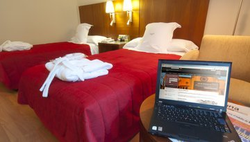 Enjoy free WIFI internet coverage throughout the hotel