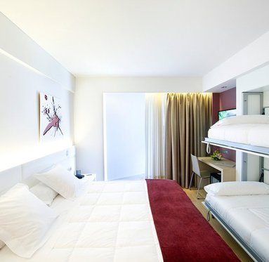 Rooms modern and functional facilities