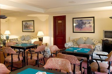 Enjoy your leisure time in the hotel's game room.
