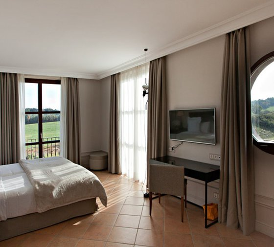 The classic rooms at the Hotel Casa Anamaria are located ...