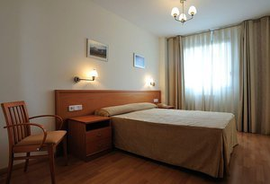 The Sercotel Huesca Apartment Hotel has 48 double rooms (two ...