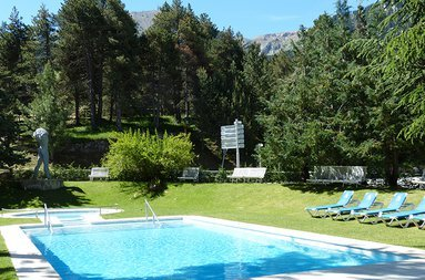 Enjoy a sunny afternoon in our outdoor pool with incredible ...
