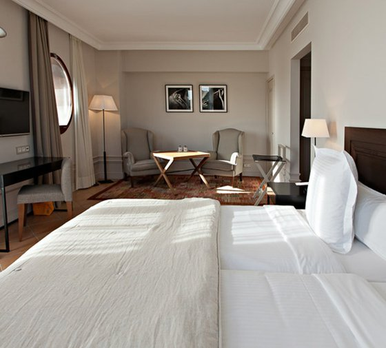 The family rooms  at the Hotel Casa Anamaria offer 32 ...