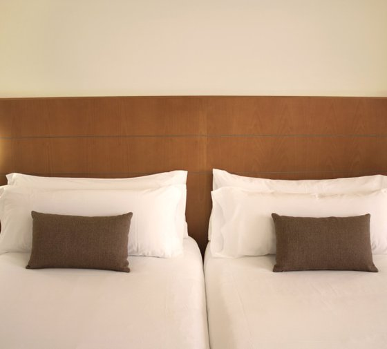 The interior double rooms of the Sercotel Hotel Príncipe Paz ...