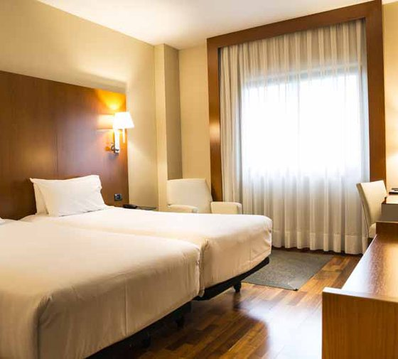 Our hotel Sercotel AB Rivas has 34 twin bedded rooms ...
