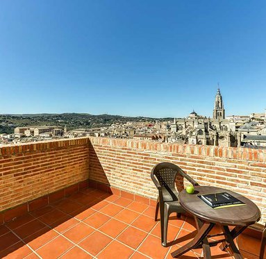 Beautiful views of the Old Town of Toledo