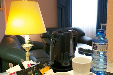 Free Tea/Coffee service in the room
