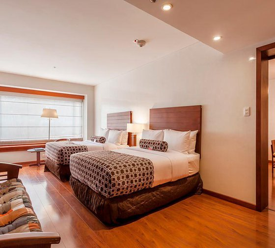 The Hotel Tequendama features spacious and luxurious Suites with capacity ...