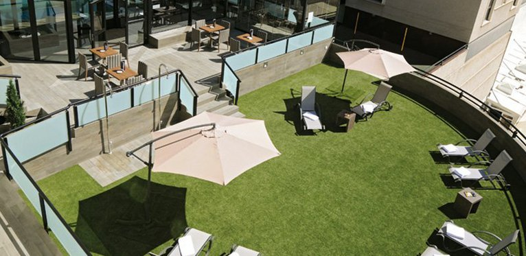 Fantastic roof terrace to enjoy the outdoors