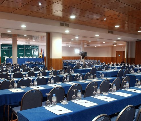 This function room at the Extremadura Hotel by Sercotel is ...