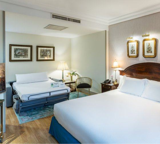 The Sercotel Gran Hotel Conde Duque offers superior rooms for ...