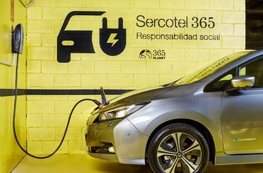 The Sercotel Gran Hotel Zurbarán has charging points for electric ...