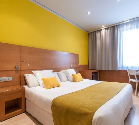 The rooms Croma comfort are spacious and modern, very spacious ...
