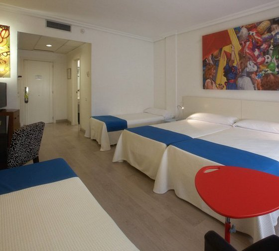 The hotel Carlos III has triple rooms, equipped similarly to ...