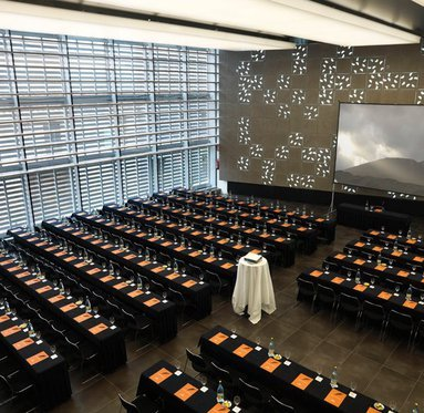 Prepare conferences and meetings in our great room
