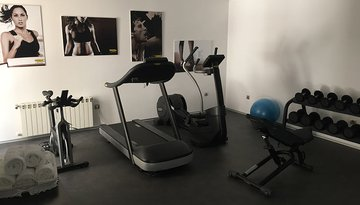 Sercotel Gran Hotel Zurbarán has a renewed gym so that ...