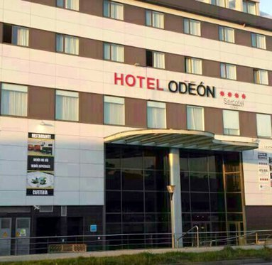 Comfortable hotel in Naron
