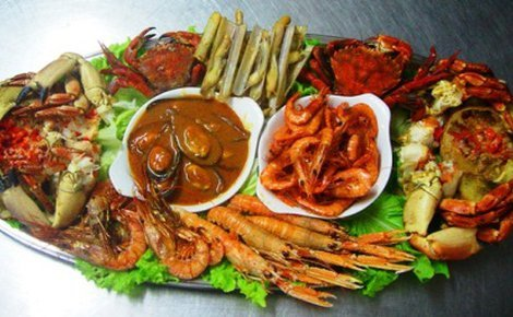 Hotel SERCOTEL LOS ANGELES offers you a seafood platter