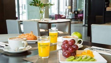 Enjoy our buffet breakfast and start your day with energy ...