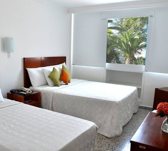The standard rooms in the Tequendama Inn Cartagena by Sercotel ...