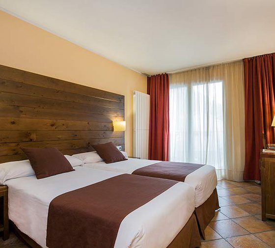 The Sercotel Màgic Ski Hotel has 15 double exterior rooms ...