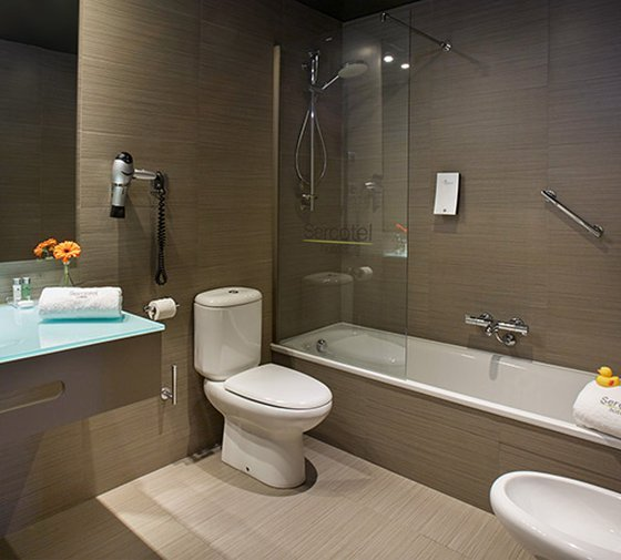 At the Sercotel Boulevard Vitoria-Gasteiz Hotel the two-bed junior suites ...